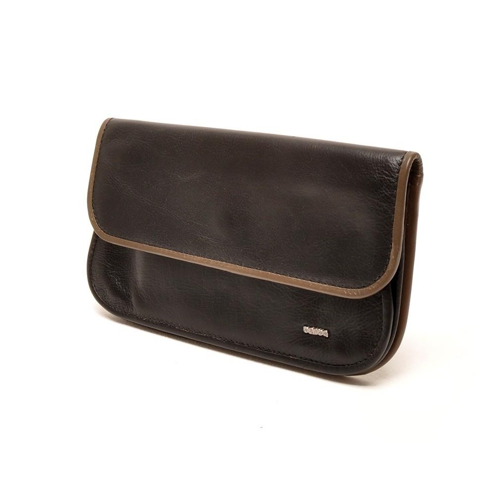 Berba Soft 001-056 Ladies Wallet Black-Taupe