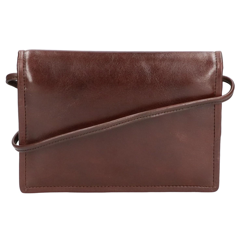 Leather Design Portemonnee Tas CC 1314 Bruin