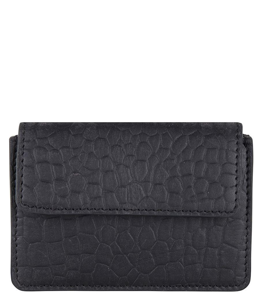 Cowboysbag x Bobbie Bodt, 3055 Wallet Peridot Croco Black