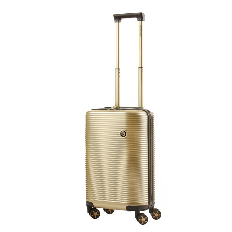 CarryOn Trolley 55 cm Bling Bling Champagne