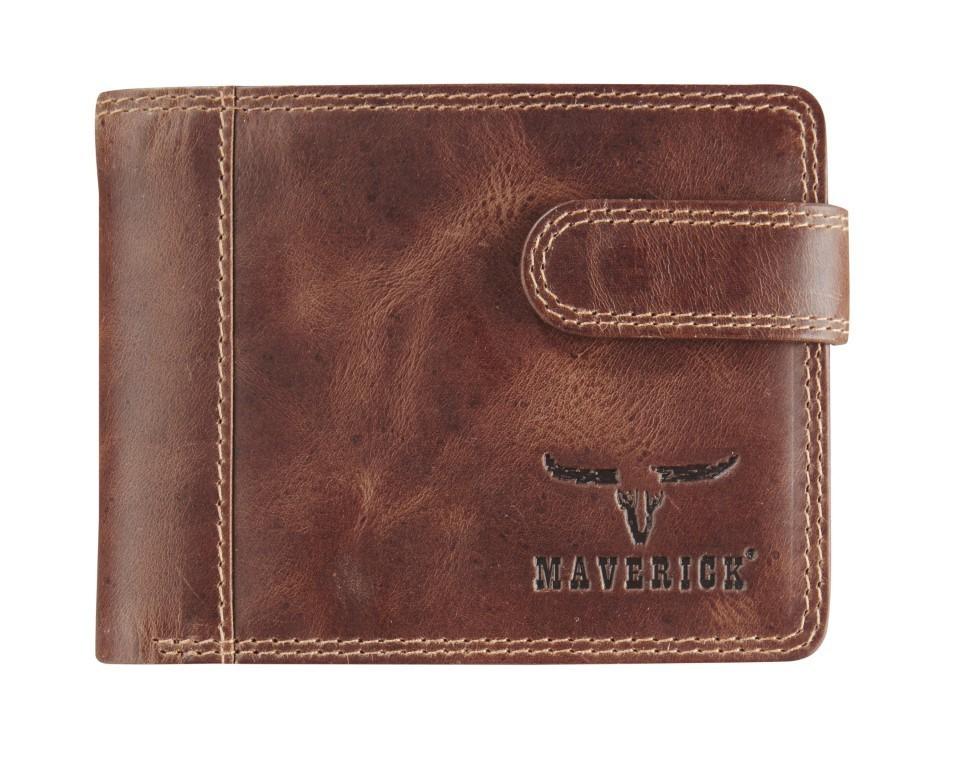 Maverick Dalian II Compact Billfold Donker Bruin