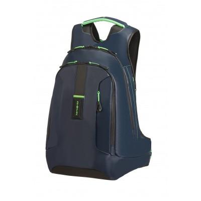 Foto van Samsonite Paradiver Light Laptop Backpack L+ NIght Blue/Fluor Green