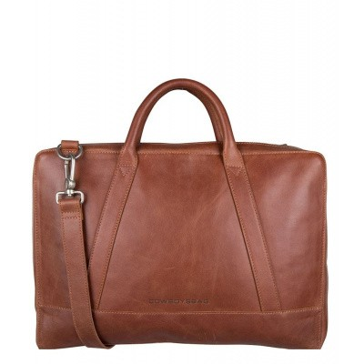 Foto van Cowboysbag Business Laptop Bag Holden 15.6 inch 2212 Cognac