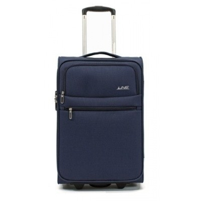 Foto van Line Travel Brick 2 WH 55 cm Dark Navy