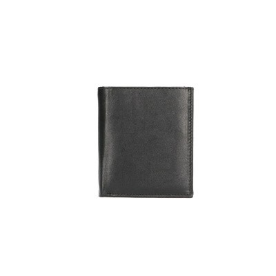 Foto van Leather Design Billfold CN 114 Zwart