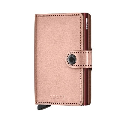 Foto van Secrid Miniwallet Metallic Rose