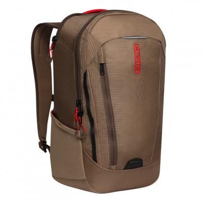 Foto van Ogio Apollo Laptop Backpack Khaki/Red