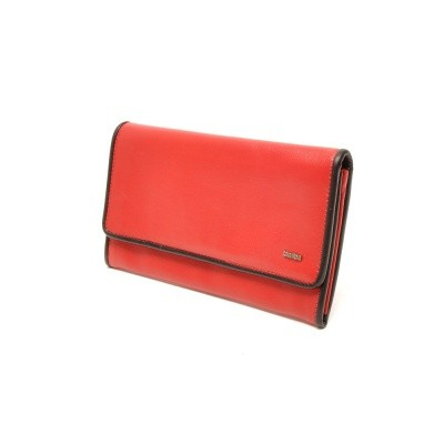 Foto van Berba Soft 001-403 Ladies Wallet Red-Black