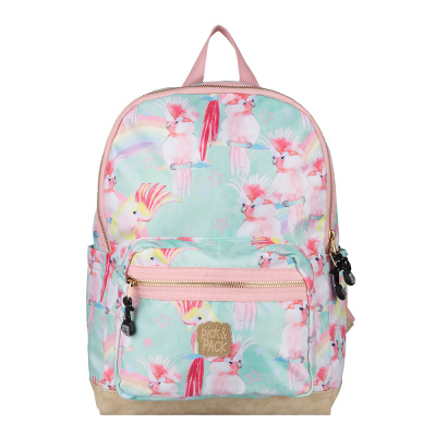Pick & Pack Unicorn Birds Backpack M Soft Green