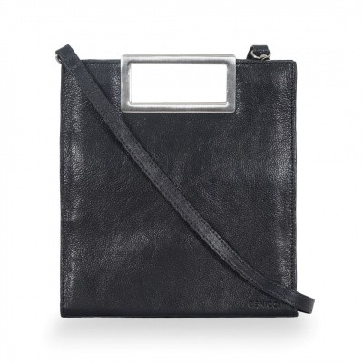 ICCI Metal Handle bag Small 62063 Black