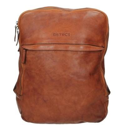 Foto van DSTRCT Pearlstreet 026020 Backpack 'Tango' Cognac