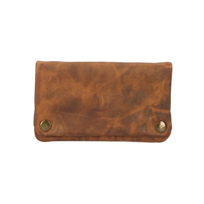 Foto van Leather Design Shag etui Hunter HU 594 Bruin