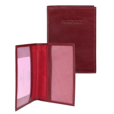 dR Amsterdam Paspoort-etui 15606 Red