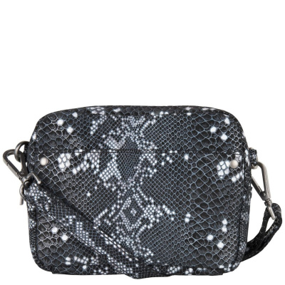 Cowboysbag x Bobbie Bodt, 3057 Bag Bobbie Snake Black and White