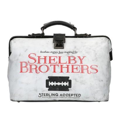 Foto van Shelby Brothers by Orange Fire Bookiebag 1919 Zwart