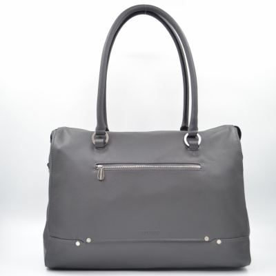 Claudio Ferrici Shoulder- Laptopbag 14.1 inch 26001 Smoke