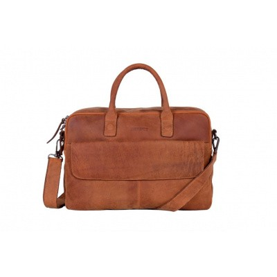 Foto van DSTRCT Business Bag 076420 Cognac