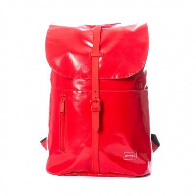 Foto van Spiral Tribeca Backpack Tarpaulin Red