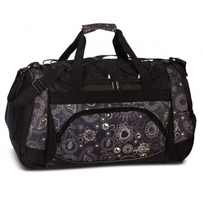 Foto van Keanu Sports Bag 70700 Black Jacquard