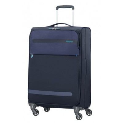 American Tourister Herolite Super Light Spin. 67cm Midnight Blue