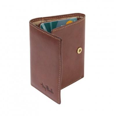 Foto van Tony Perotti - Furbo Pure portemonnee met bankbiljetvak - Donker Bruin