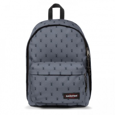 Eastpak OUT OF OFFICE Rugtas Bugged Grey