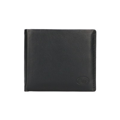 Leather Design Billfold KA 1742A Zwart