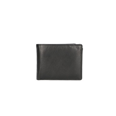 Leather Design Billfold CN 5009 Zwart