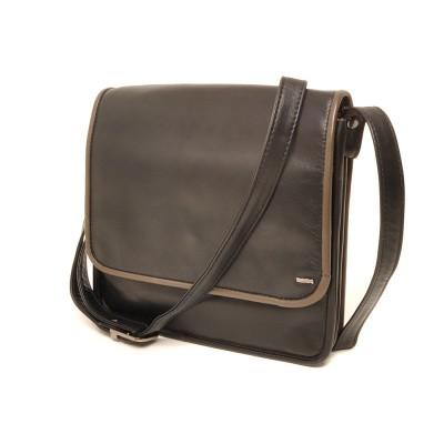 Berba Soft 005-474 Flapbag Black-Taupe