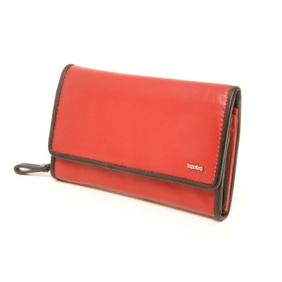 Foto van Berba Soft 001-203 Ladies Wallet Red-Black
