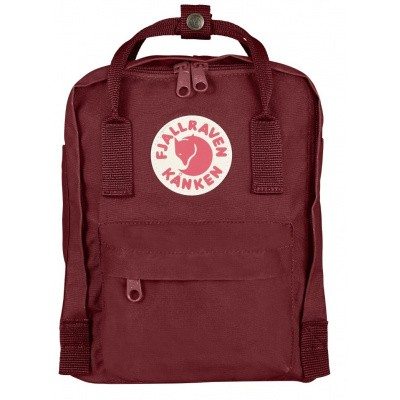 Foto van Fjallraven ​​Kanken Mini Backpack F23561 Ox Red