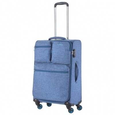 Foto van CarryOn Trolley 67 cm Cargo Blue