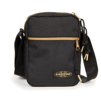 Foto van Eastpak THE ONE Schoudertas Goldout Black-Gold