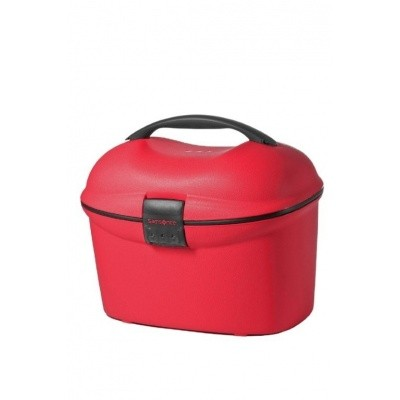Foto van Samsonite CABIN COLLECTION BEAUTY CASE/STRAP CRIMSON RED
