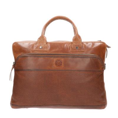 Foto van Leather Design 15.6 inch Laptoptas DO20-1880 Tobacco