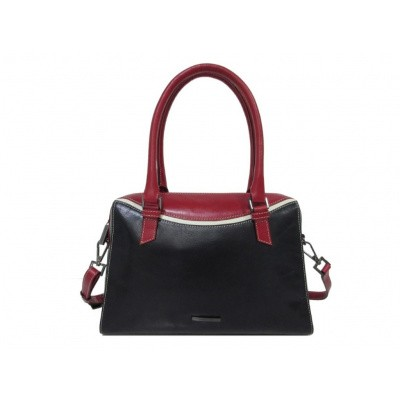 Claudio Ferrici Quatro Stagioni Handbag 23005 Navy/Red