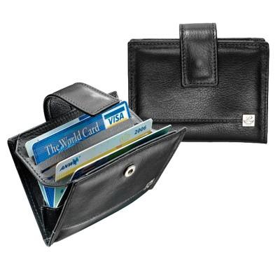 dR Amsterdam Creditcard-etui 118605 Black