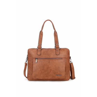 Wimona Bags Verona Laptoptas 2099 Cognac