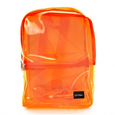Foto van Spiral Mini OG Backpack Transparent Orange