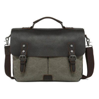 Foto van Awesome Bags Briefcase 98184 Olive