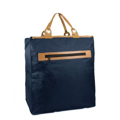 Piace Molto Canvas Boodschappen Shopper 31.1053 Navy