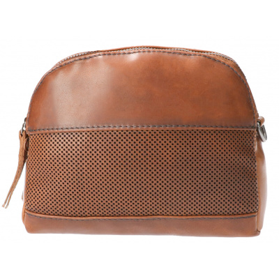 Foto van Leather Design Schoudertas DO20-A12 Tobacco