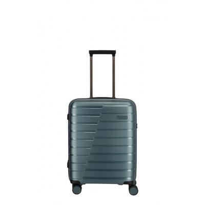 Travelite Airbase 4 Wiel Trolley S 075347 Ice Blue Metallic