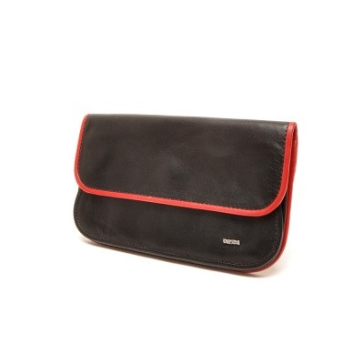 Foto van Berba Soft 001-056 Ladies Wallet Black-Red