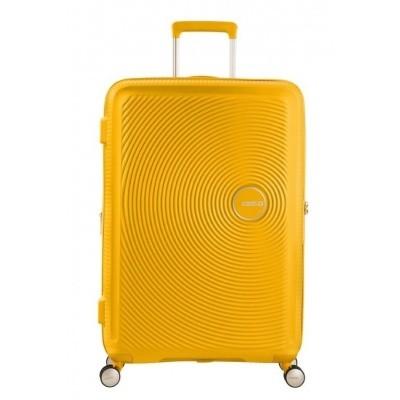 Foto van American tourister SOUNDBOX SPINNER 55/20 TSA EXP GOLDEN YELLOW