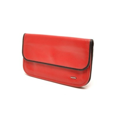 Foto van Berba Soft 001-056 Ladies Wallet Red-Black