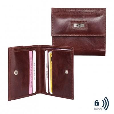 dR Amsterdam Billfold 48535 Chestnut