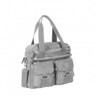 Foto van New Rebels Crincle Bowling/Shopper 31.1169 Grey