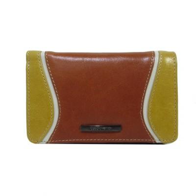 Claudio Ferrici Quatro Stagioni Wallet 23902 Brick/Sun