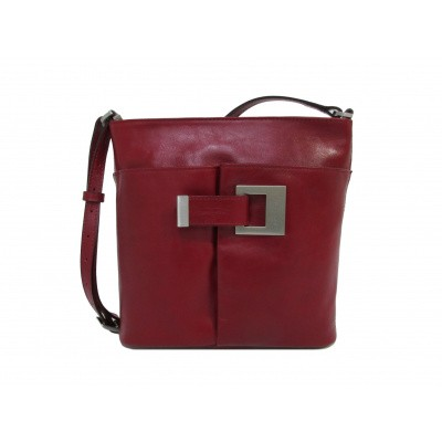 Foto van Claudio Ferrici Classico Crossbag 18052 Red